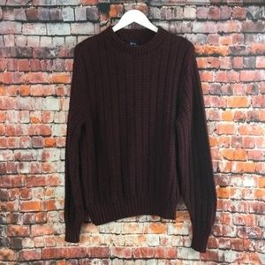 VTG Woolrich Sweater Maroon Size Large